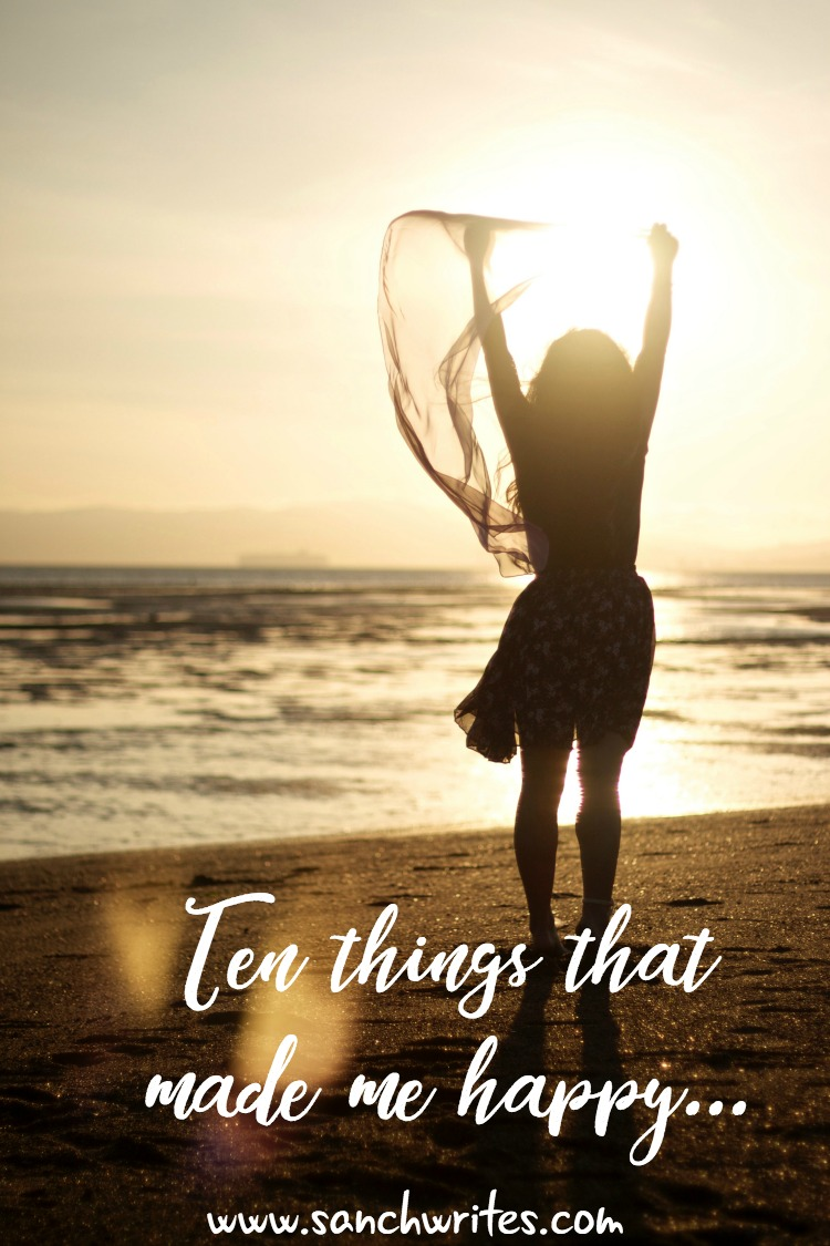 10 things that made me happy {Week 39}